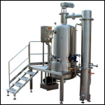 Vacuum Concentration Bowl 300 Lt.