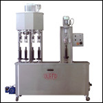 Filling and Capping Machine for screw caps